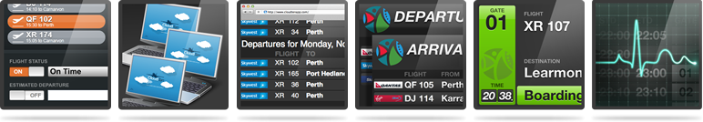 CloudTen Flight Information Display System (FIDS) - DCS.aero